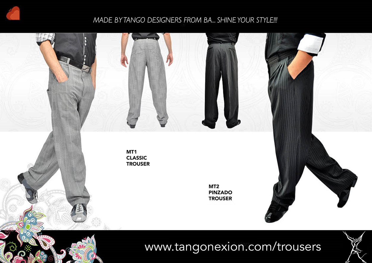 Tango Trousers from Buenos Aires!
